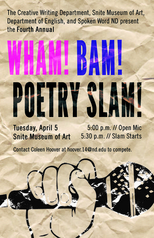 4th Annual Poetry Slam @the Snite