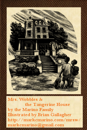 Mrs. Wobbles and the Tangerine House: Book 1: The Mysterious Floor