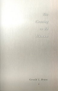 On Ceasing to be Human (2010)