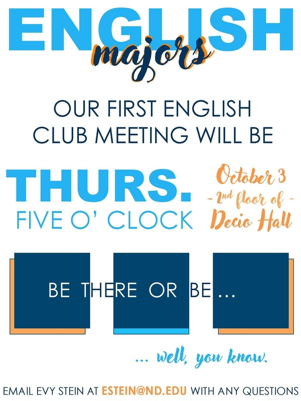 Engl Club Meeting Poster 10