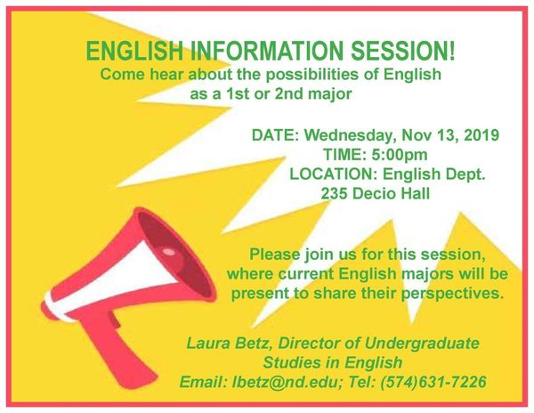 English Info Session Fall 19 Website