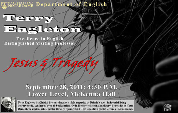 Terry Eagleton F11 Public Lecture: Jesus & Tragedy